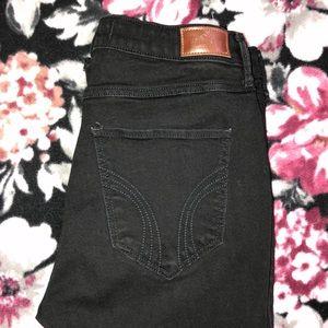 Black Hollister jeans